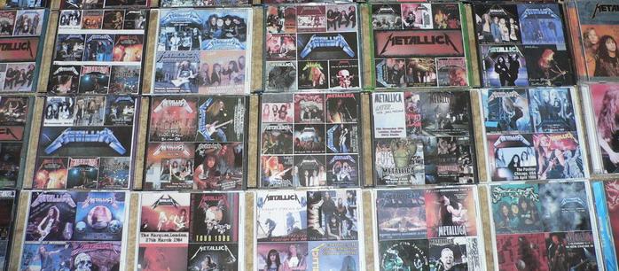Metallica-bootlegs